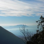 Monte Soratte da Valle Ferrara - Casperia
