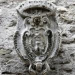 Moricone - il Borgo - Stemma Borghese
