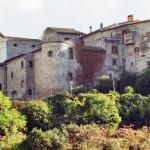 Moricone - il Castrum dal basso