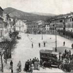 Poggio Mirteto - Piazza Martiri della Liberta da Porta Farnese