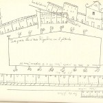 Poggio Mirteto - Piazza Martiri della Liberta - Pianta del 1683