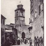 Poggio Mirteto - Piazza del Mercato e Torre Orologio