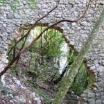 Rocca Baldesca - Mura nel Bosco