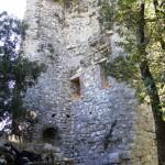 Rocca Baldesca - Torre lato interno