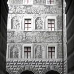 Castello di Ambras - Affreschi Cortile - 1