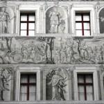 Castello di Ambras - Affreschi Cortile - 3