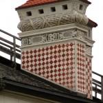 Castello di Ambras - Comignolo