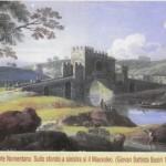 Ponte Nomentano - Dipinto GB Busiri XVIII secolo