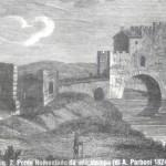 Ponte Nomentano - Stampa A. Parboni - 1824