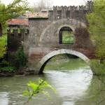 Ponte Nomentano - dal ponte moderno