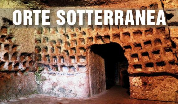 Orte Sotterranea e l' Acquedotto Etrusco