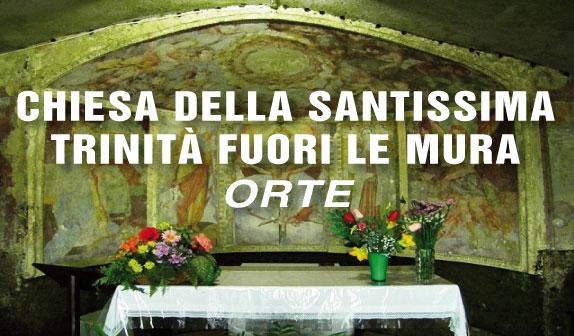 Chiesa della Santissima Trinità fuori le Mura ad Orte
