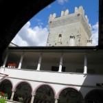 Castel Coira - Loggiato e Mastio