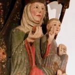 Castel Coira - Madonna con Bambino - XIII sec