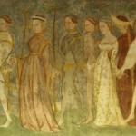 Castel Roncolo - Affreschi Sala Torneo alla Lancia 2