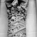 St John Divine Statue Portone - 11