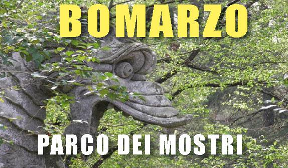 Il Parco dei Mostri a Bomarzo