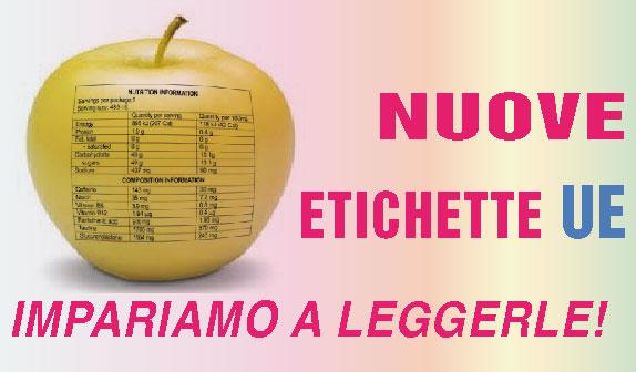 Etichetta obbligatoria sugli alimenti