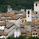 Narni - Panoramica - Palazzo Podesta e Torre Civica