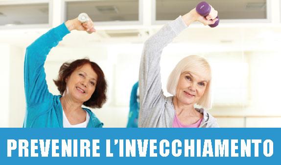 Prevenire l'invecchiamento