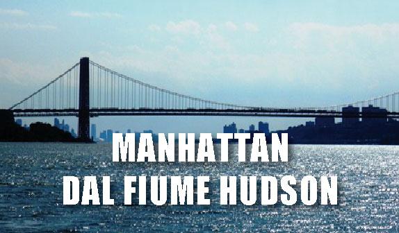 Manhattan dal fiume Hudson