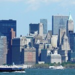Manhattan dal Fiume Hudson - 1