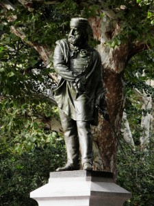Giuseppe Garibaldi Washington Square Park Manhattan New York