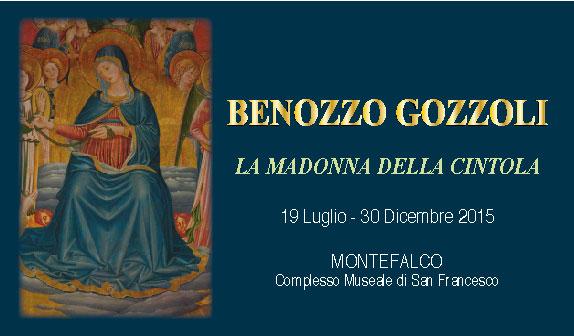 Benozzo Gozzoli: la Madonna della Cintola a Montefalco
