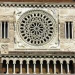 Tuscania Basilica di San Pietro Rosone