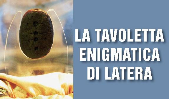 La Tavoletta Enigmatica della Caldera di Latera