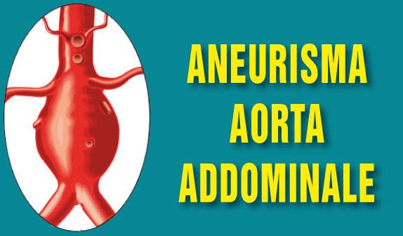 L'aneurisma dell'aorta addominale