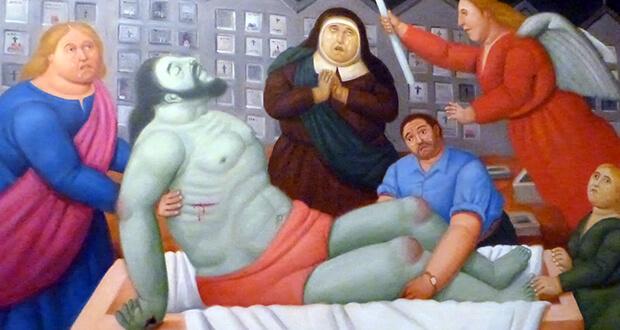 Botero Via Crucis al Palazzo delle Esposizioni
