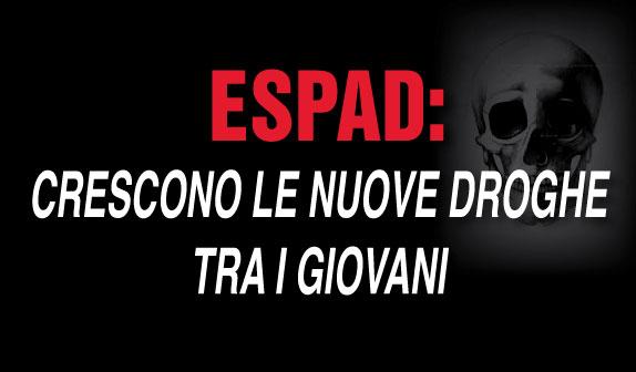 ESPAD: crescono le nuove droghe tra i giovani