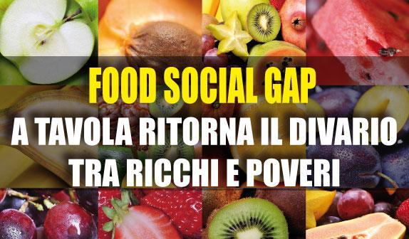Italiani a tavola: tornano le differenze di ceto