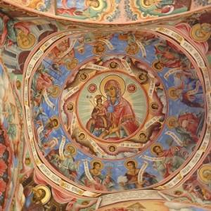 affreschi monastero rila bulgaria