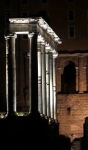 foro romano tempio di saturno
