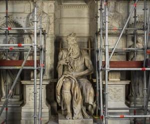 mosè michelangelo roma san pietro in vincoli tomba giulio II