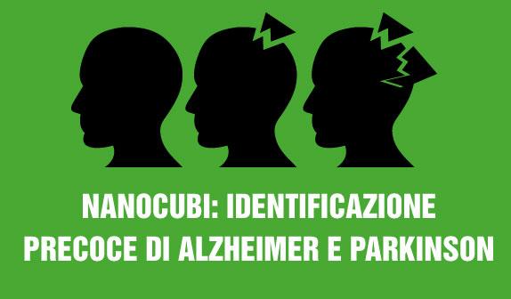 Nanocubi: identificazione precoce di Alzheimer e Parkinson