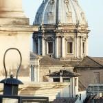 Roma - i Tetti da Piazza Navona