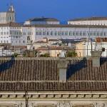 Roma - il Quirinale da Piazza Navona