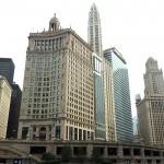 chicago river vedere chicago del fiume