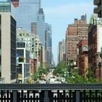 New York High Line Park Lower West Manhattan Hudson Yards