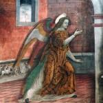 Duomo di Bobbio Annunciazione
