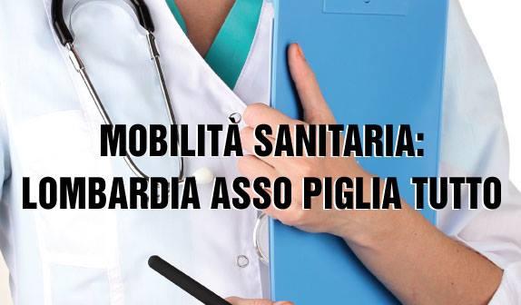 Mobilità Sanitaria: Lombardia Assopigliatutto!