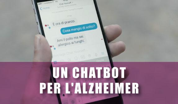 Alzheimer: un chatbot in aiuto dei malati