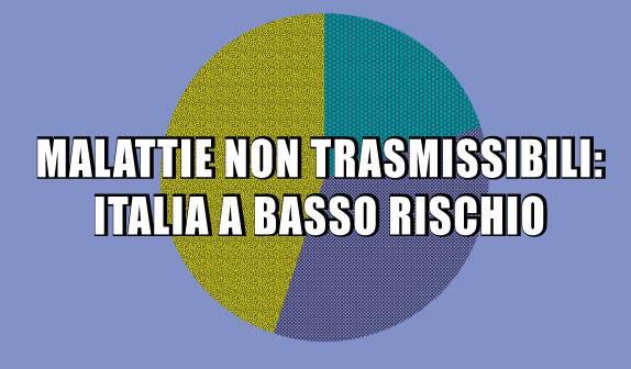 Malattie non trasmissibili: Italia basso rischio di morte