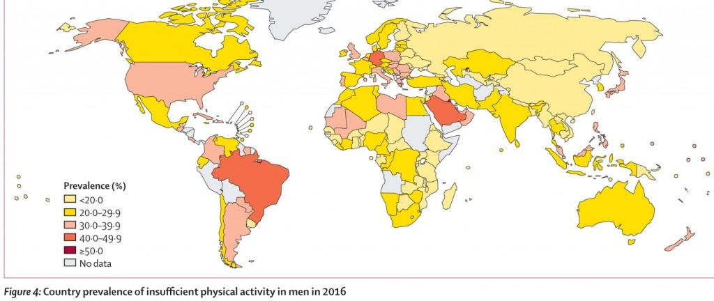 world health organization movimento fisico salute
