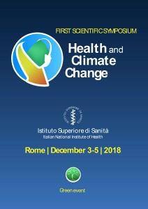 cambiamenti climatici salute