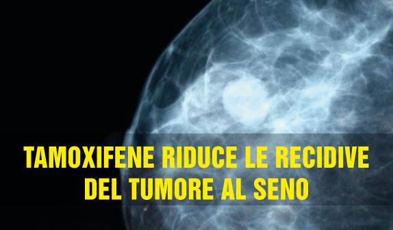 Tamoxifene a basse dosi riduce recidive del tumore al seno