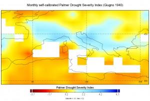 indice palmer siccità giugno 1940